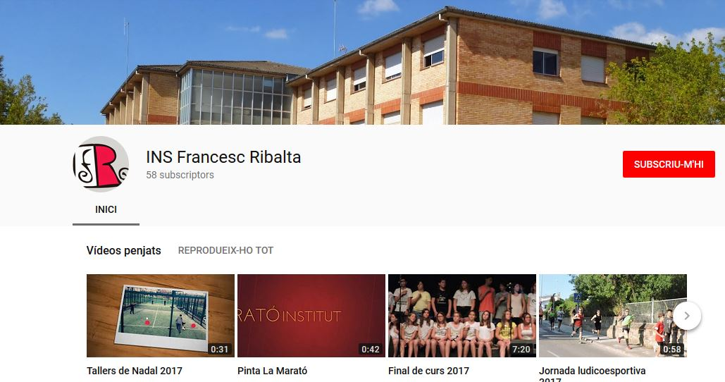 pantalla youtube Institut